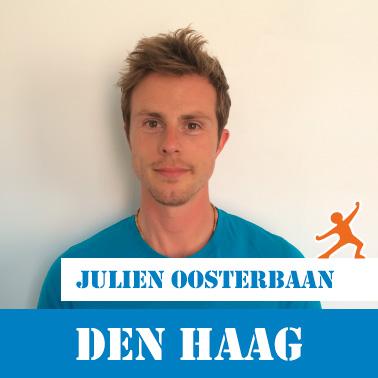 JuiceCamp coach Julien Oosterbaan