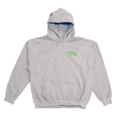 JuiceCamp trui grijs voorkant