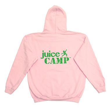 JuiceCamp trui roze achterkant