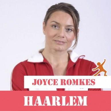 JuiceCamp sportcoach Joyce Romkes